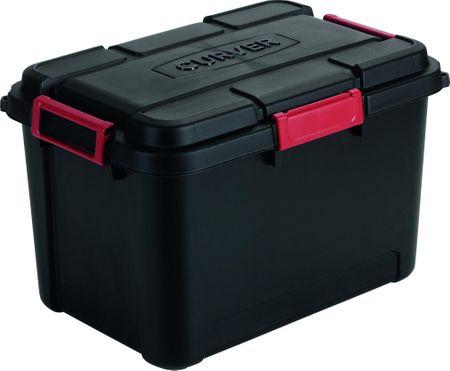 CURVER szkrzynia na narzędzia box Outback 60L Black