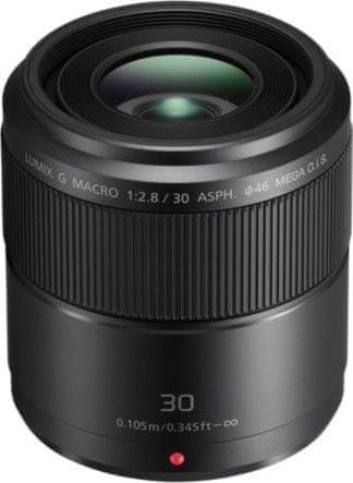 Panasonic 30 mm Lumix G Macro F2,8 ASPH MEGA O.I.S. (H-HS030E)