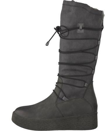 Tamaris ženski škornji, 37, temno sivi