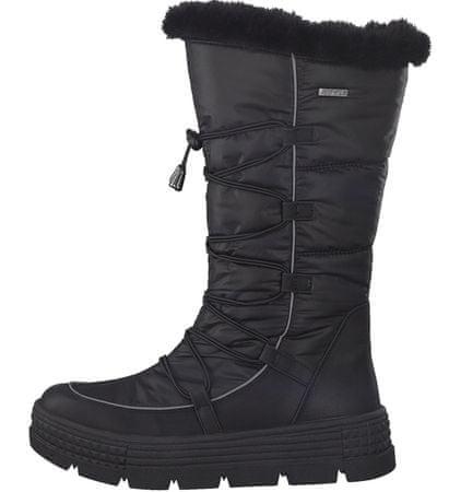 Tamaris buty zimowe damskie 39, czarne