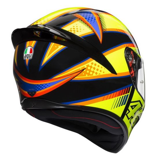 AGV K1 Rossi VR46 Soleluna 2015 replika športové helma