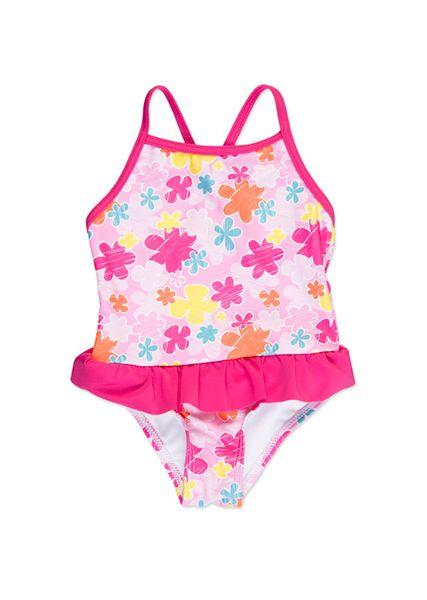 Losan dívčí plavky 122 růžová