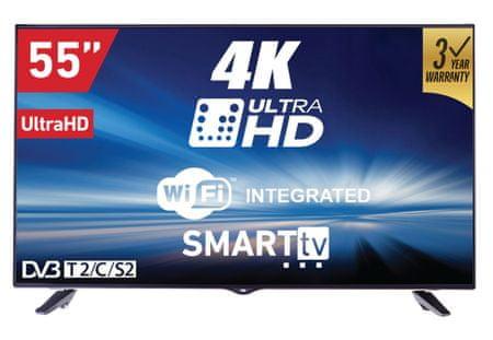 VOX electronics 4K LED TV sprejemnik 55DSW400U