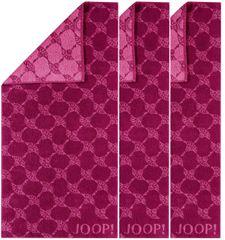 JOOP! ręczniki 50x100 cm, cornflower 3 szt. różowy/fioletowy