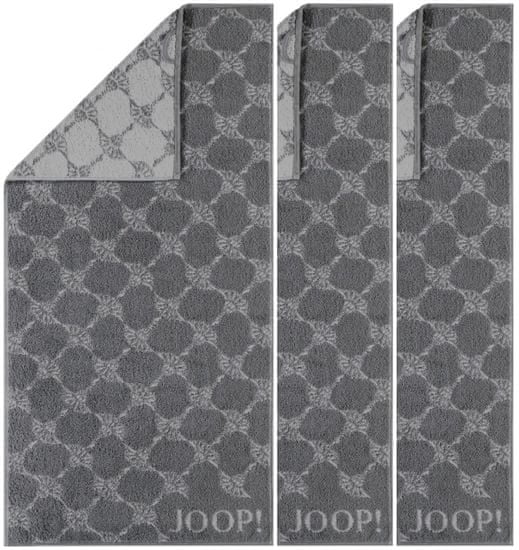 Joop! ručníky 50x100 cm, cornflower 3ks