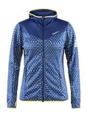 Craft ženska jakna Ski Team Jersey Jacket, modra