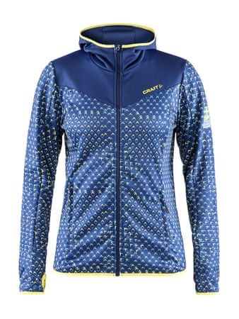 Craft ženska jakna Ski Team Jersey Jacket, modra, XS