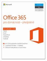 Microsoft Office 365 pro domácnosti (6GQ-00721)