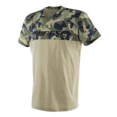 Dainese pánské triko s krátkým rukávem  CAMO-TRACKS army