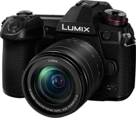 Panasonic Lumix DC-G9 + Lumix 12-60 mm (DC-G9MEG-K)