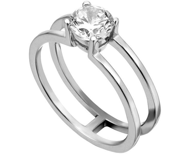 Esprit Stříbrný prsten se zirkonem ESRG0010111 57 mm
