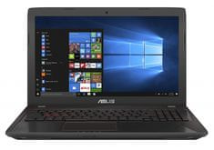 Asus gaming prenosnik FX553VE-DM062 i7-7700HQ/8GB/SSD128GB+1TB/GTX1050Ti/15,6FHD/Endless (90NB0DX7-M08320