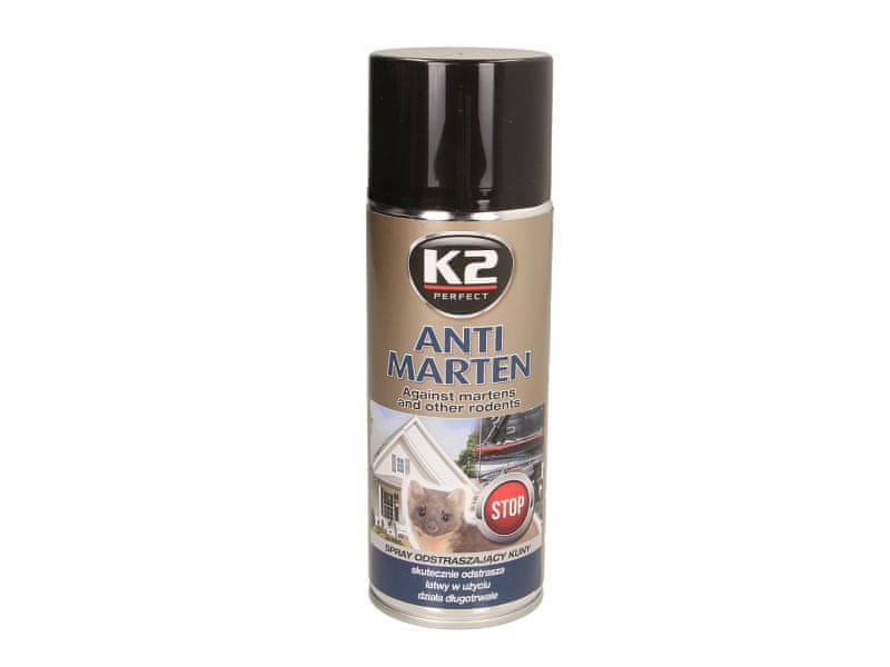 K2 Speciální prostředek k odstrašení kun a jiných zvířat, 400 ml