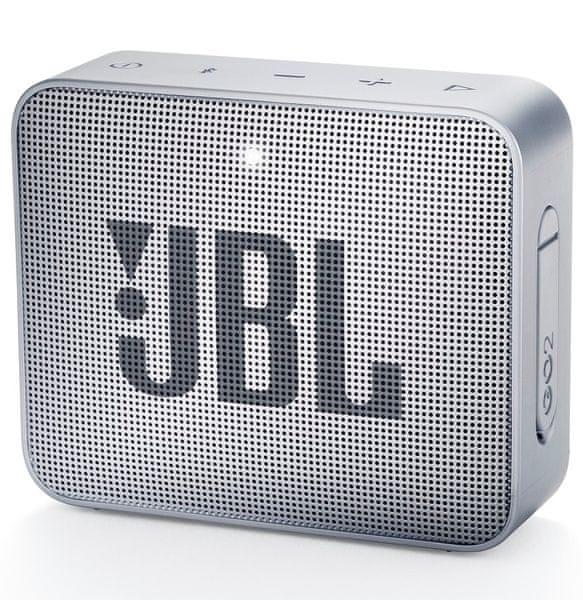 JBL GO 2, šedá