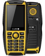 CUBE1 S200, Dual SIM, žlutý