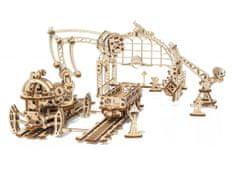 UGEARS Železniční jeřáb - manipulátor