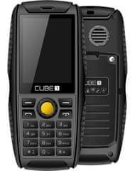 CUBE1 S200, Dual SIM, černý