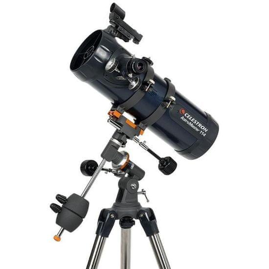 Celestron teleskop AstroMaster 114 EQ