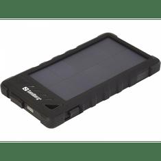 Sandberg prenosna baterija Outdoor Solar Powerbank 8000, črna