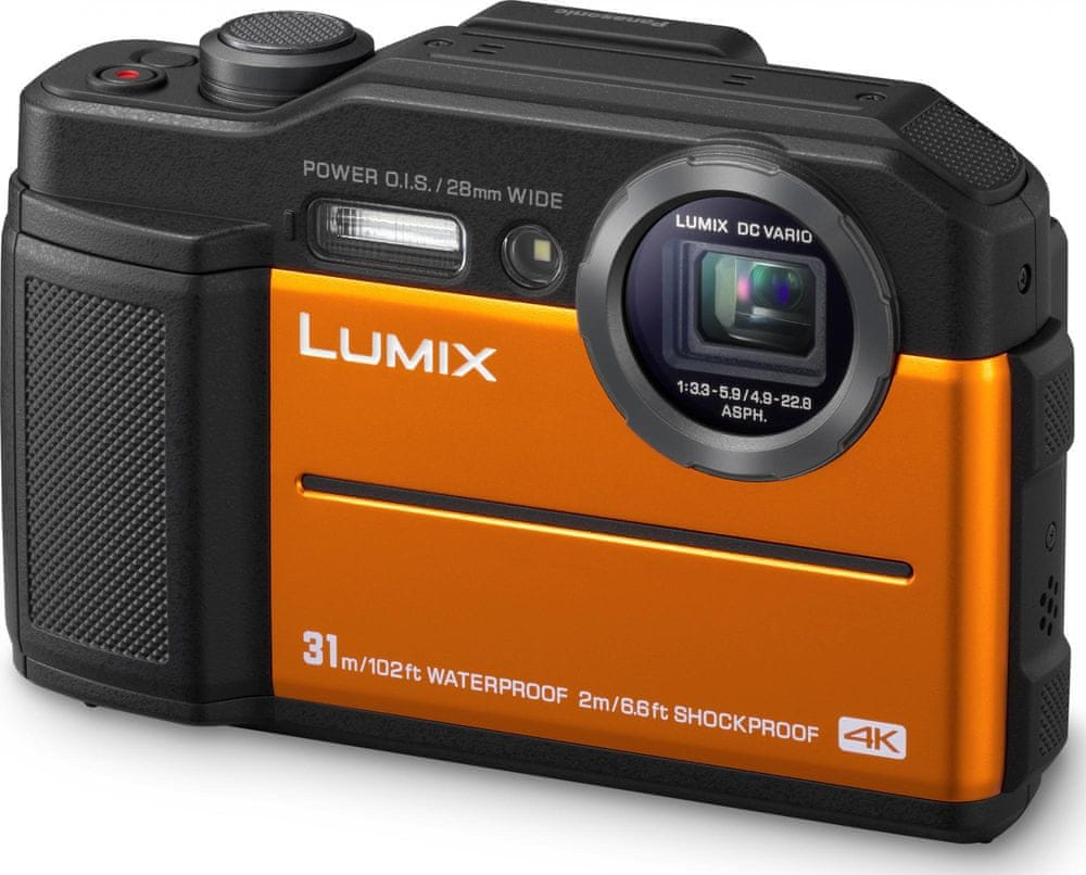 Panasonic Lumix DC-FT7EP Orange (DC-FT7EP-D)