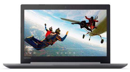 Lenovo prenosnik IdeaPad 320 i3-6006U/6GB/SSD256GB/15,6FHD/W10H, siv (80XH0228SC)