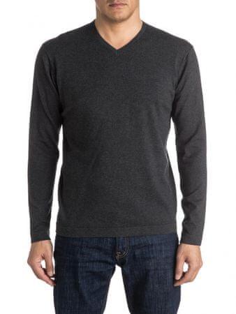 Quiksilver Everyday Kelvin V M Sweater Dark Grey Heather M
