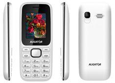 Aligator D200, Dual SIM, bílý