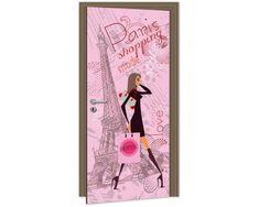 Dimex Fototapeta na dvere DL-045 Parížska móda 95 x 210 cm