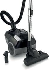 Gorenje sesalnik Compact midi VCEA11CMBK, črn