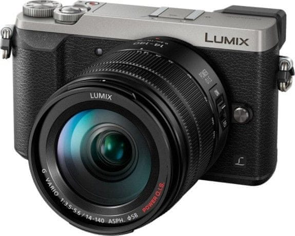Panasonic Lumix DMC-GX80 + 14-140 mm Silver (DMC-GX80HEG-S)