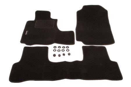 MAMMOOTH Koberce textilní, Honda CR-V od r. 2012, černé, sada 3 ks