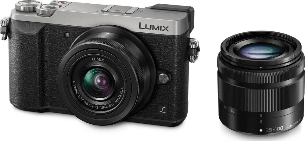 Panasonic Lumix DMC-GX80 +12-32 + 35-100 mm Silver (DMC-GX80WEG-S)