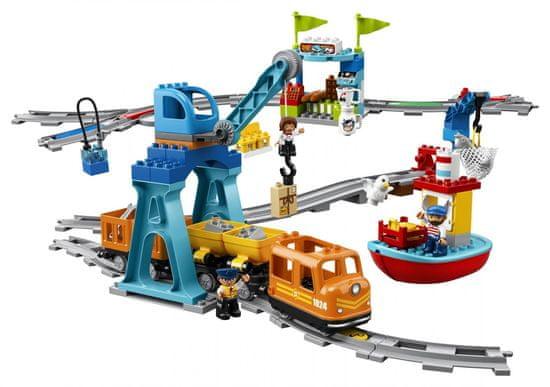 LEGO DUPLO Town 10875 Tovorni vlak