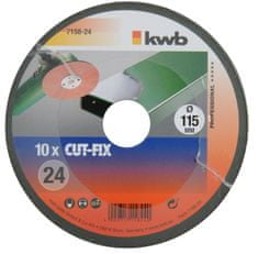 KWB brusilna plošča za kovino CUT-FIX (715880), 80 GR