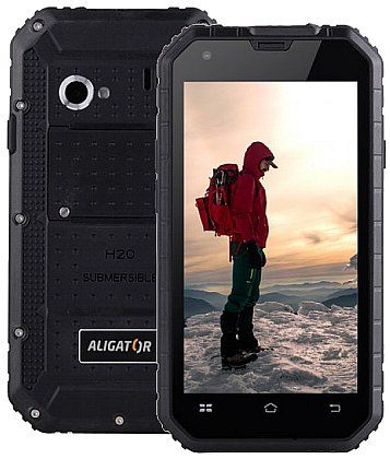 Aligator RX460 eXtremo, 16GB, IP68, černý