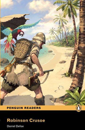 Defoe Daniel: Level 2: Robinson Crusoe Book and MP3 Pack