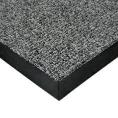 FLOMA Šedá textilní zátěžová čistící rohož Catrine - 50 x 80 x 1,35 cm