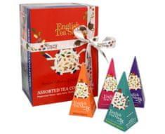 English Tea Shop Dárková kolekce 12 pyramidek Červenomodrý mix 4 příchutě