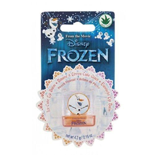 Lip Smacker Balzám na rty pro děti s broskvovou příchutí Disney Frozen Ice Cube Olaf Blst (Lip Balm Peach Flavour) 4,2 g