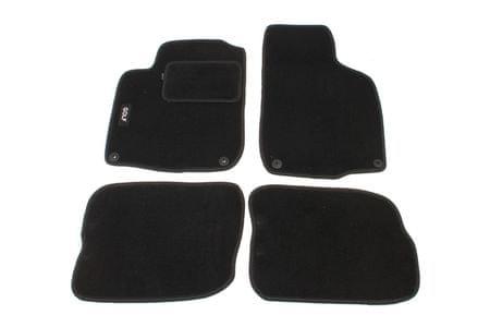 MAMMOOTH Koberce textilní, VW Golf IV 1997-2003, černé, sada 4 ks