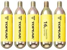 Topeak Náplň CO2 16g set 5 ks