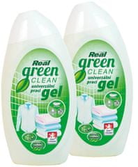 Real gel za pranje rublja Green Clean, 2 x 1 l