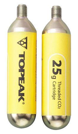 TOPEAK Náplň CO2 25g set 2 ks