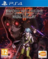 Namco Bandai Games igra Sword Art Online: Fatal Bullet (PS4)