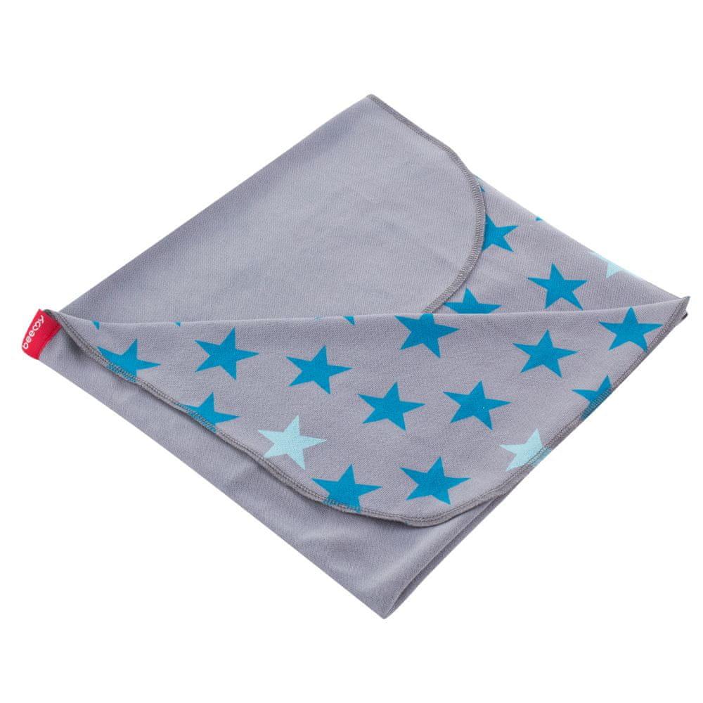 BeeMy Letní deka, STARS GREY SPEARMINT