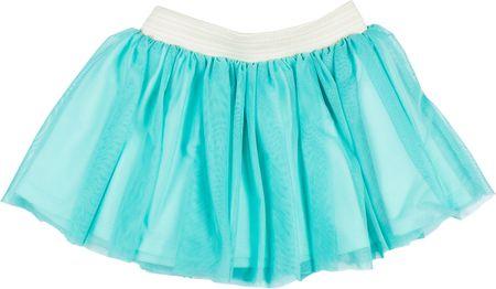 MMDadak dievčenská sukňa Tropic 104 tyrkysová