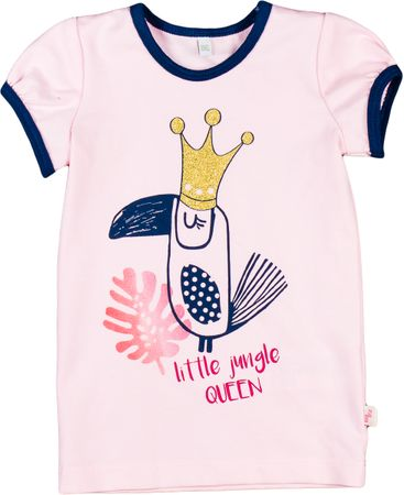 MMDadak dívčí tričko Jungle 116 růžová