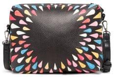 Desigual vícebarevná crossbody kabelka Tears Splatter Marvin