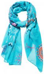 Desigual dámský modrý šátek Mandala