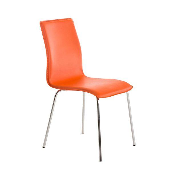 BHM Germany Jídelní židle Nela, oranžová